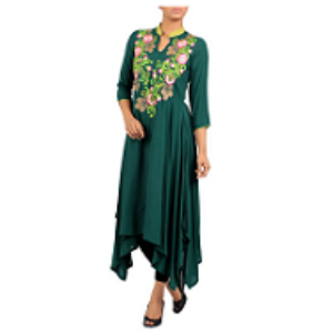 Embroidered Ethnic Top FIR