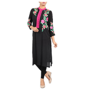 Womens Ethnic BLACK