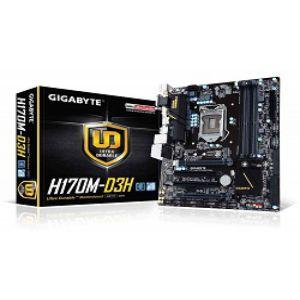 Gigabyte GA H170M D3H DDR4 | Gigabyte Motherboard
