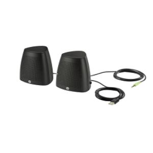 HP S3100 Black USB Speaker BD Price | HP Speaker