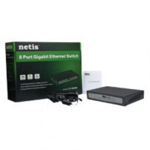 ST3108GM 8 Port Gigabit Ethernet Switch BD Price | Netis Ethernet Switch