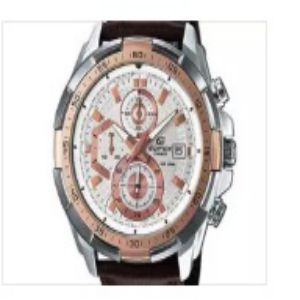 Casio Edifice Chrono Leather Belt Watch