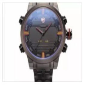 Shark Mens Stainless Steel Original Watch