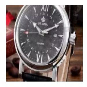 ORKINA Men Quartz Black Watch