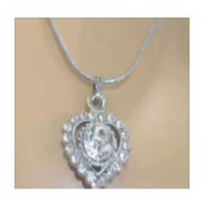 Heart Sign Locket with Chain
