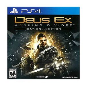 SQUARE ENIX PS4 Deus EX Mankind Divided ( Day One Edition) Game