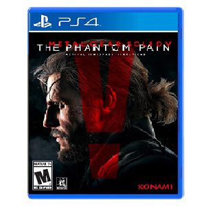 KONAMI PS4 Metal Gear Solid 5 Phantom Pain Game