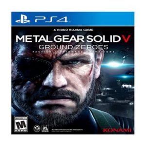 KONAMI PS4 Metal Gear Solid V Ground Zeroes Game