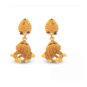 Beautiful Designs of Gold Jhumkas Price BD | Beautiful Designs of Gold Jhumkas
