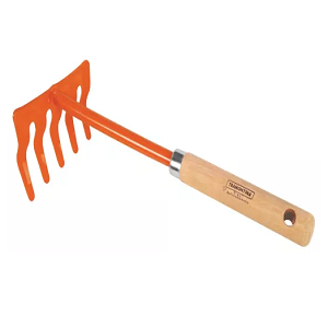 Hand Cultivator Price BD | Tramontina Cultivator 5 Teeth Wood Handle