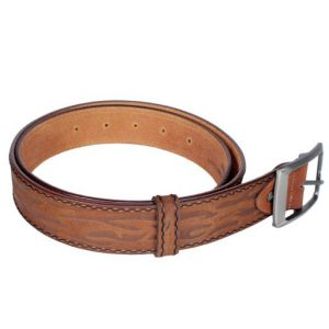 Mens Leather Belt Price BD | Fashionable Brown Color Gents Leather Belt