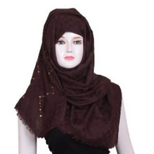Chocolate Color Cotton Hijab Price BD | Cotton Hijab