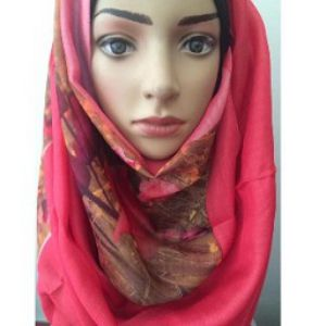 Print Pure Silk Hijab Price BD | Print Pure Silk Hijab
