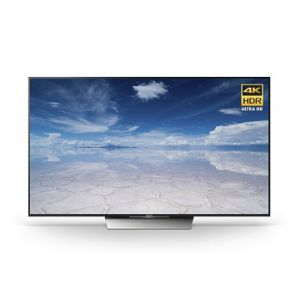 SONY BRAVIA 75 INCH X8500D 3D TV WITH 4K RESOLUTION