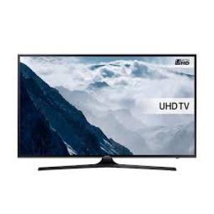 SAMSUNG 55 INCH KU6000 FLAT UHD 4K SMART TV
