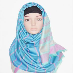 Blue Silk Hijab Price BD | Blue Silk Hijab