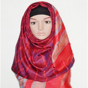 Silk Hijab Price BD | Hijab Fashion