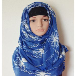 Cotton Blue Hijab Price BD | Cotton Blue Hijab
