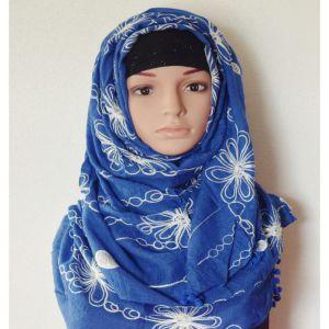 Cotton Blue Hijab Price BD | Cotton Blue Hijab