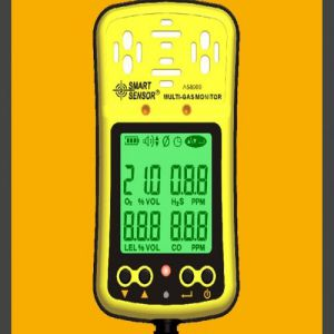 Multi Gas Monitor Meter