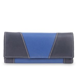 Leather Purse Bag Price BD | Leather Purse Navy Blue