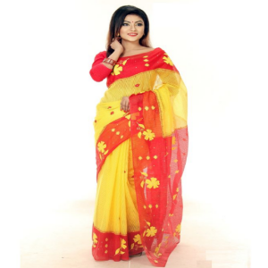 Haya Silk Applique Saree Price BD | Silk Applique Saree