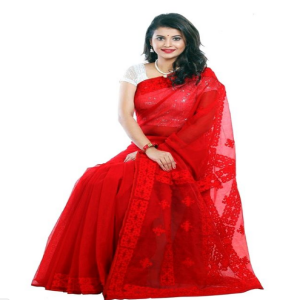 Red Silk Saree Price BD | Red Silk Saree