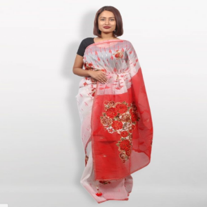 Jamdani Silk Saree Price BD | Jamdani Silk Saree