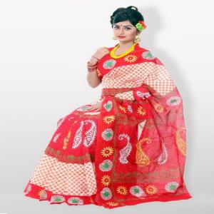 Skin Print Saree Price BD | Skin Print Saree