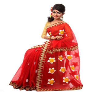 Red Silk Saree Price BD | Silk Saree