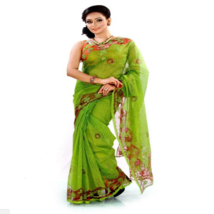 Green Silk Saree Price BD | Green Silk Saree