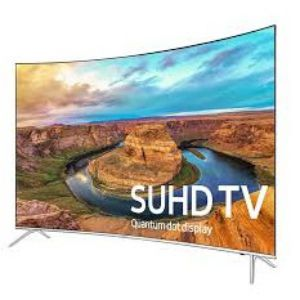 SAMSUNG 55 INCH KS7500 4K CURVED SUHD HDR TV
