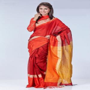 Tosor Silk Saree Price BD   Multi Color Tosor Silk Saree