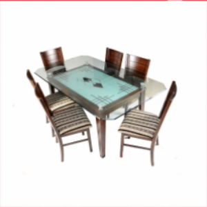 DT142 Brothers Furniture Butterfly Dining Table