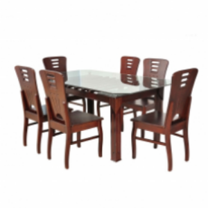 DT136 Brothers Furniture Lotus Dining Table