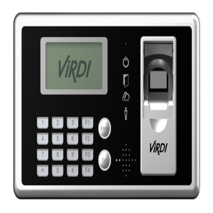 Virdi AC4000 Fingerprint Reader Time Attendance Machine