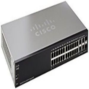 Cisco SF300 24PP 24 Port 10 100 PoE Managed Switch