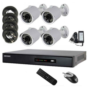 Hikvision DVR Security System DS 7204HGHI SH 4 Channel