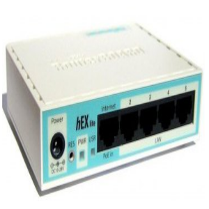 Mikrotik RB750r2 RAM 46MB 10 100 Ethernet Wired Router