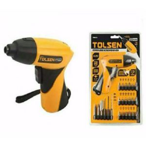 Tolsen Cordless Screw Driver Drill Machine Price BD | Screw Driver Drill Machine