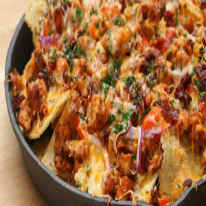 BBQ Chicken Nachos Price BD | BBQ Chicken Nachos