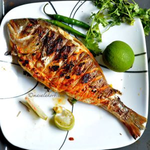 Grilled Fish Food Price BD | Grilled Fish Food