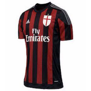 AC Milan 2016 home Jersey Price BD | AC Milan 2016 home Jersey