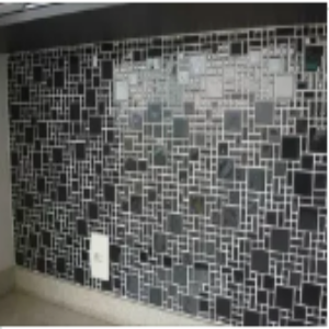 Creative 3D Glass Wall Tiles