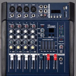 4 Channel Mixer Amp Price BD | 4 Channel Mixer Amp