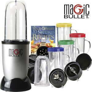 Magic Bullet Blender  21 Pieces (QTHH)