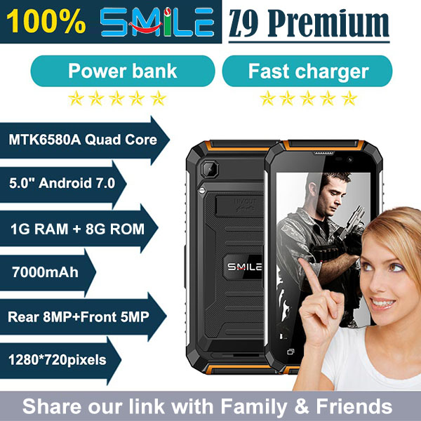 Smile Z9 Premium 3G Smartphone Android 6.0