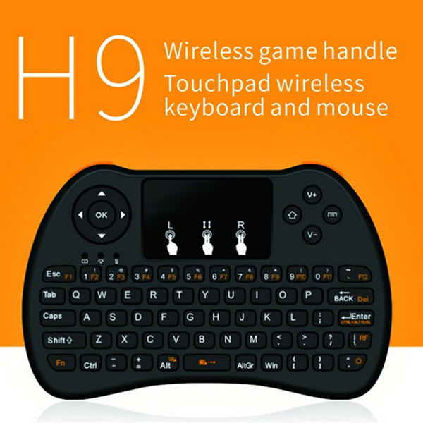 H9 2.4G Mini Wireless Combo Mouse Keyboard for Android