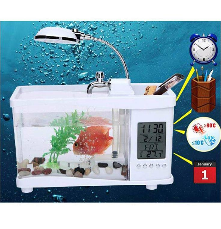 Mini USB Aquarium,(22185199)