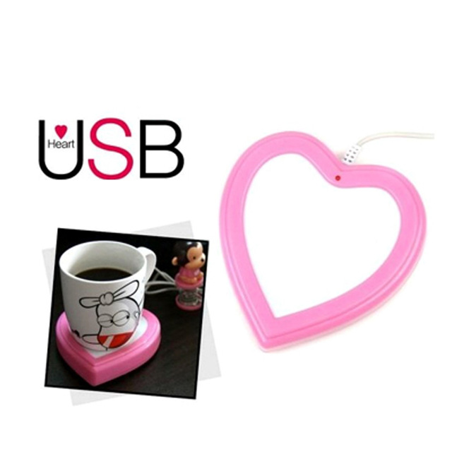 USB Cup Warmer Love Shape,(2232199)